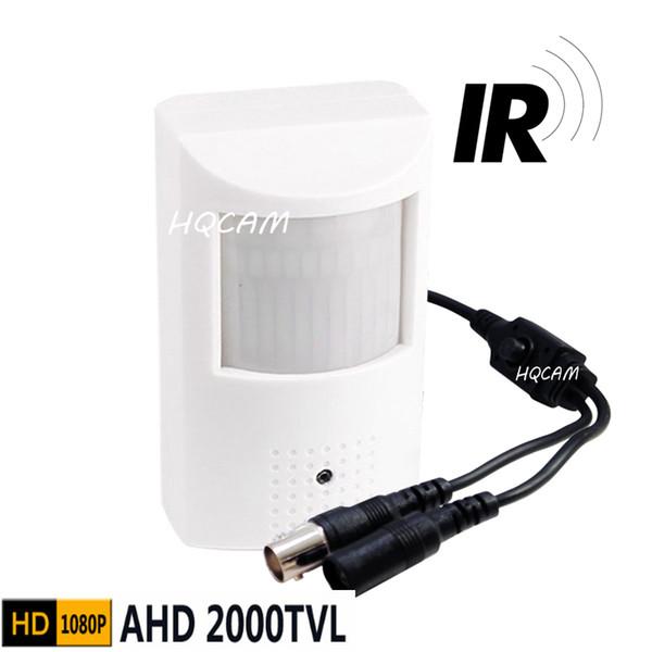 OSD 1080P Mini AHD camera Night Vision 48pcs IR 940nm 3.7mm pinhole lens 2.0megapixel PIR Cam CCTV pinhole AHD mini camera ahd