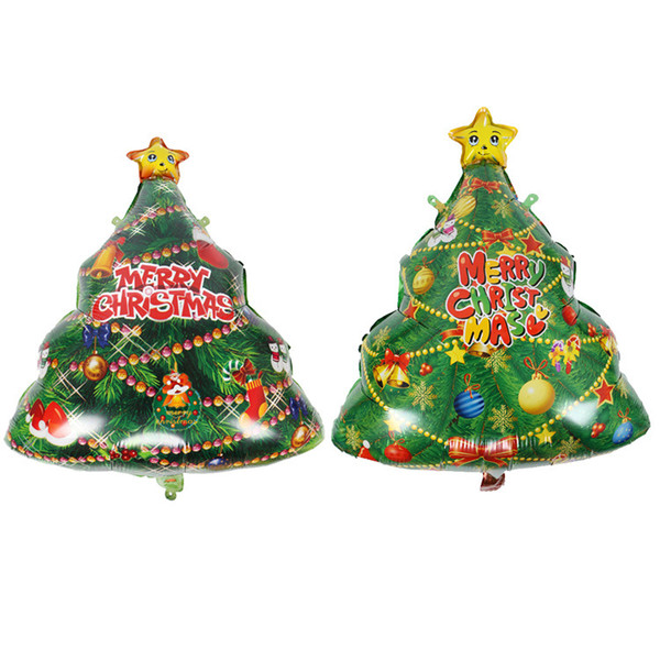 Foil Christmas Tree.Christmas Tree Shape Aluminum Foil Balloons Children S Holiday Toy Decoration Christmas Party Balloon 56 74cm Christmas Balls Christmas Baubles From