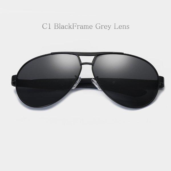 C1 Cadre noir Lentille grise