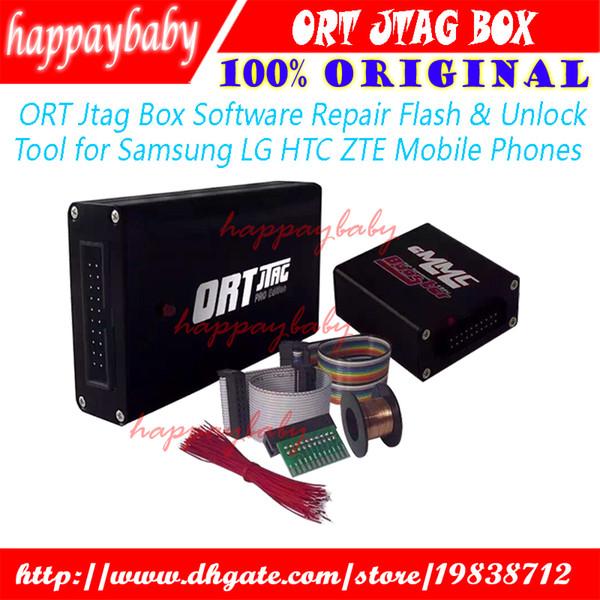 100% Original ORT Jtag Box Software Repair Flash & Unlock Tool For Samsung  LG HTC ZTE Mobile Phones Cell Phone Repair Tools Suppliers Cell Phone