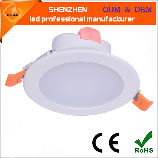 top popular New design Recessed led downlights smd 5W 7W 12W 15W 18w LED Spot light led ceiling lamp Panel Light AC85-265V downlights 2021