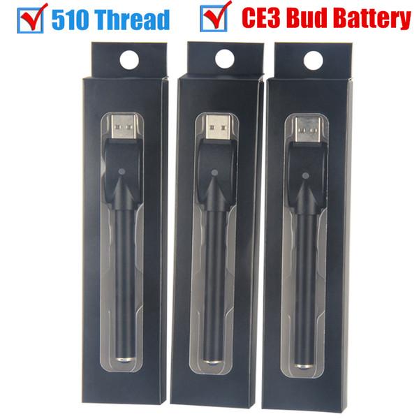 bud diamond O pen battery and usb charger o pen buttonless 510 thread auto 280mah 510 Pen