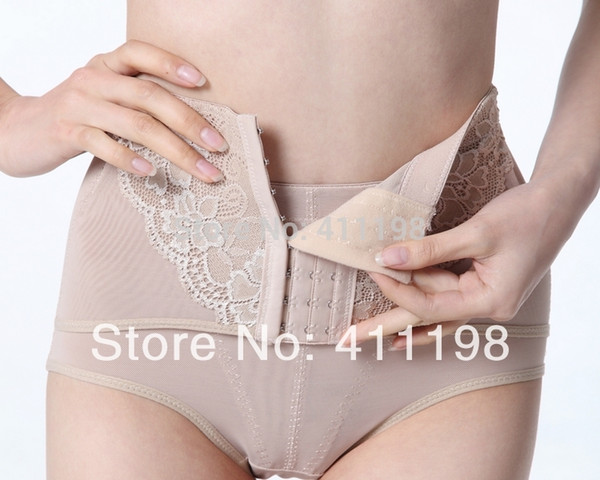 513356915c Wholesale-2014 new design Women High Waist Tummy Control Body Shaper Briefs  Slimming LOW Pants Knickers Trimmer Tuck XJ1002 BLACK apricot