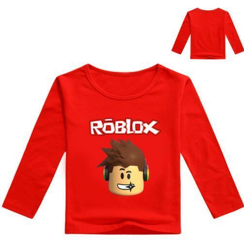 2020 2017 Autumn Long Sleeve T Shirt For Girls Roblox Shirt Yellow