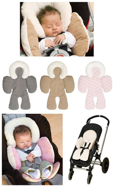 Reversible Baby Strollers Body Support Pad Mat ,Compliance FMVSS213,Baby Car Seat Stroller Baby Head Body Support Cushion