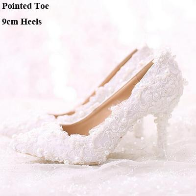 Pointed Toe 9cm Heels