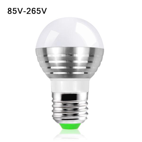 10X Cute AC 85V - 265V 110V 220V 16 Colorful Changeable RGB LED Spotlight Bulb 5W Christmas Decor light lamp+IR Remote Controller