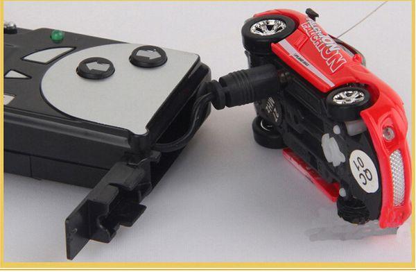 christmas gift Mini-Racer Remote Control Car 1:64 Coke Can Mini RC Radio Remote Control Micro Racing Car 200pcs