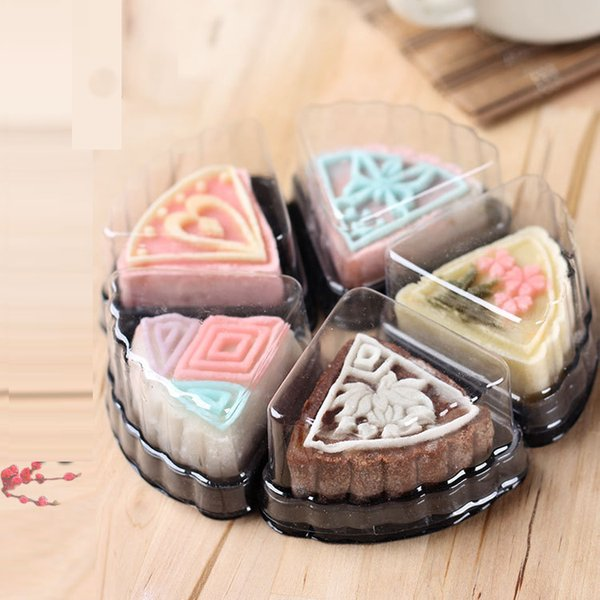 미니 웨딩 케이크 트레이 / mooncake 포장 / 케이크 상자 / 문 케이크 트레이 / 케이크 장식 포장 1500pcs / carton