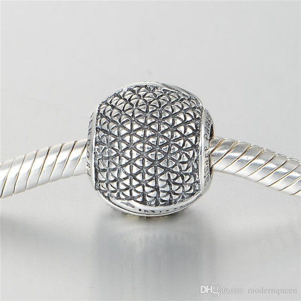 Charms thread bulk S925 sterling silver fits for pandora style charm bracelets free shipping aleCH619H9
