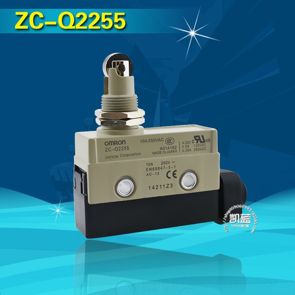 top popular ZC-Q2255 Roller Thread Actuator Micro Limit Switch 100 percent Good Quality guarantee Silver Contact Travel Switch 2021