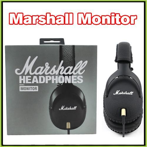 Marshall MONITOR Headphone Over-Ear Headphones w Microphone HIFI Headset VS Marshall Major II Studio 2.0