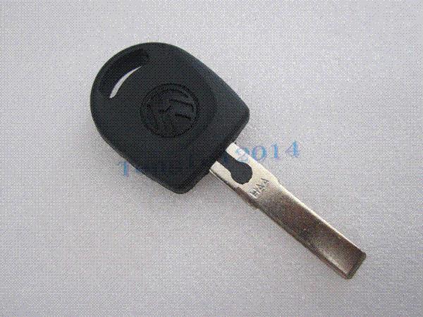 1 botão do carro chave em branco Shell para Volkswagen VW B5 Passat Golf Jetta carro atomizador