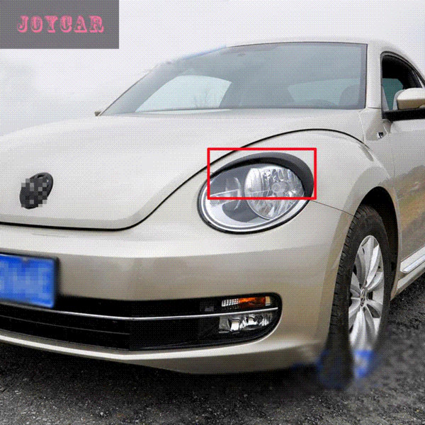FOR VW VOLKSWAGEN BEETLE HEADLIGHT EYEBROWS EYELIDS TRIM COVER STICKER CAR ACCESSORIES Cheap car accessories storage