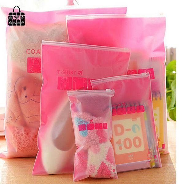 Wholesale- 8pcs/sets Transparent waterproof Clothes socks/underwear bra shoes storage bag travel Wash protect cosmetics plastic storage bag