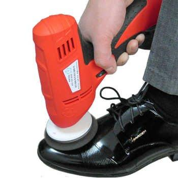 Быстрая свободная перевозка груза бытовой чистки обуви электрический мини ручной портативный Кожа Полировка Оборудование автоматического чистая машина