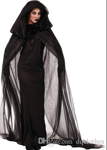 Halloween Night Wandering Soul Female The Ghost Theme Costumes Nightclub Carnival Party The Witch Cosplay Performance Clothing