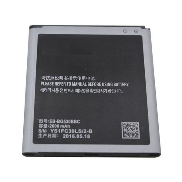 top popular 2600mAh EB-BG530BBE Mobile Phone Li-ion Replacement Battery for Samsung J5 J3 J5008 ON5 G5500 G5308W Free Shipping 2019