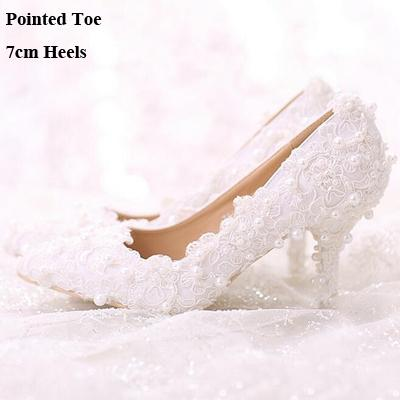 Pointed Toe 7cm Heels