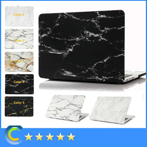 2 in 1 macbook Hard marble case with keyboard cover for Macbook Air Pro Retina with touch bar 11 12 13 15