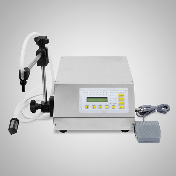 2ml 3500ml liquid filling machine new gfk 160 2ml 3500ml digital control pump filler heat protect pvc pla tic automatic filling machine