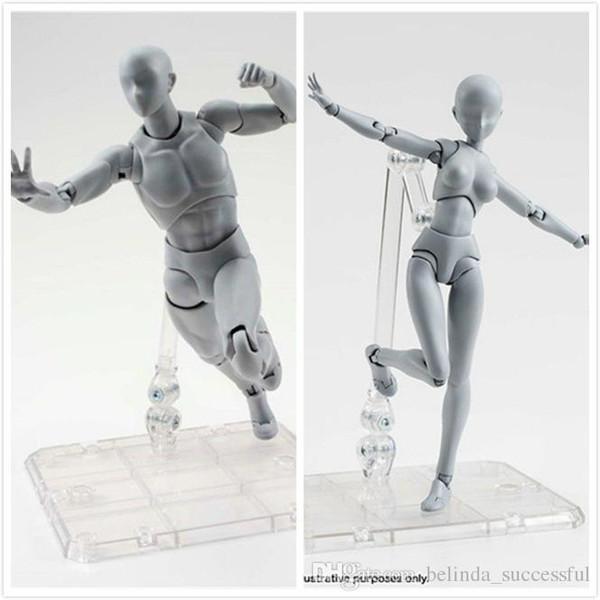 S.H Figure Figurine No Box Figuarts SHF Body Kun Male Black Color China Ver