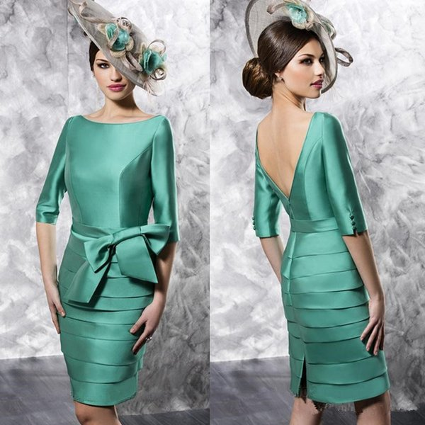 High End Mother Of The Bride Dresses And Jackets Turquoise Blue ...