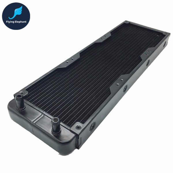 Wholesale- 360mm Aluminum PC Water Cooling Radiator 18 Channels For Computer LED Beauty apparatus