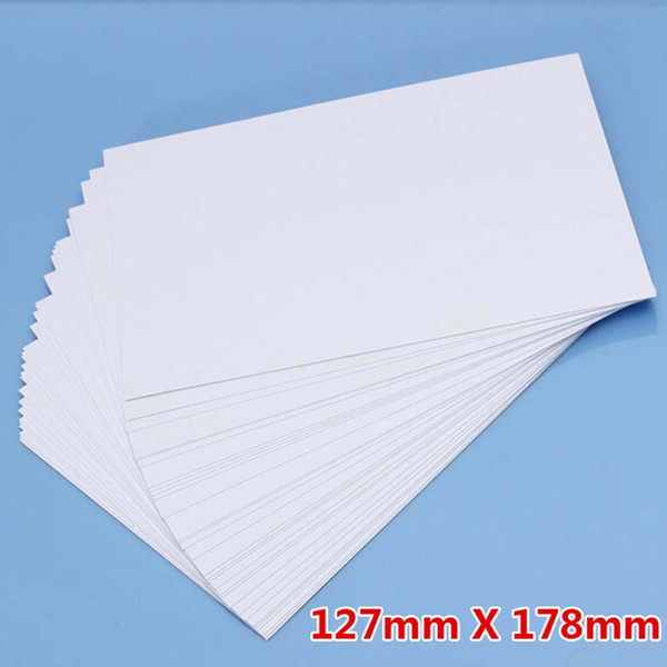 100 Sheet /Lot 5R Photo Paper High Glossy High Quality 127*178mm School Office Home Single-sided Printing Paper Papelaria