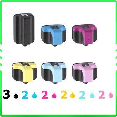 HP 363 XL için 13 adet mürekkep kartuşu mürekkep püskürtmeli kartuşları HP363 C5188 / C8180 / 8230/8250/8200/8238 / 8250V / 8250XI / 8253 Avrupa Modeli