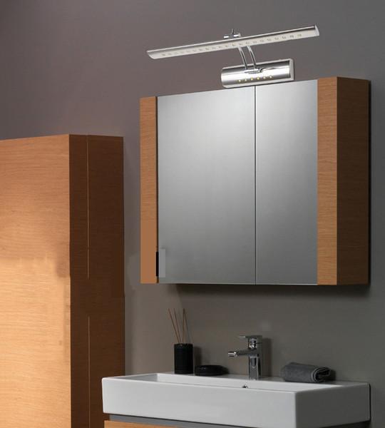 Beliebtes Schaukelndes Badezimmer Spiegel Licht 550mm 110V / 240V 7W  Schlafzimmer Wandleuchte Mit Schalter über Schreibtisch