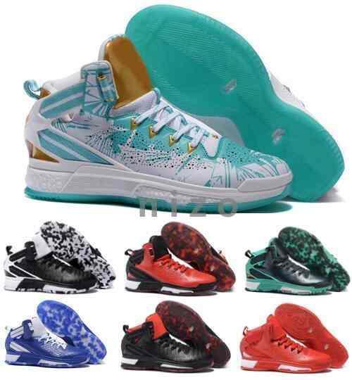 Derrick Rose Christmas Shoes 2016.2016 Derrick Rose Shoes Mens D Rose Basketball Shoes Retro 6 White Christmas Sneakers D Rose Shoes Sports Original Sneakers Size 40 46 Walking Shoes