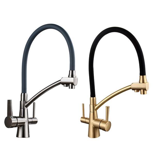 2019 Kitchen Faucet Water Filter Taps Mixer Kitchen Taps Mixer Sink Faucets  Water Purifier Taps Kitchen Mixer Filter From Rozinsanitary1, $155.78 | ...