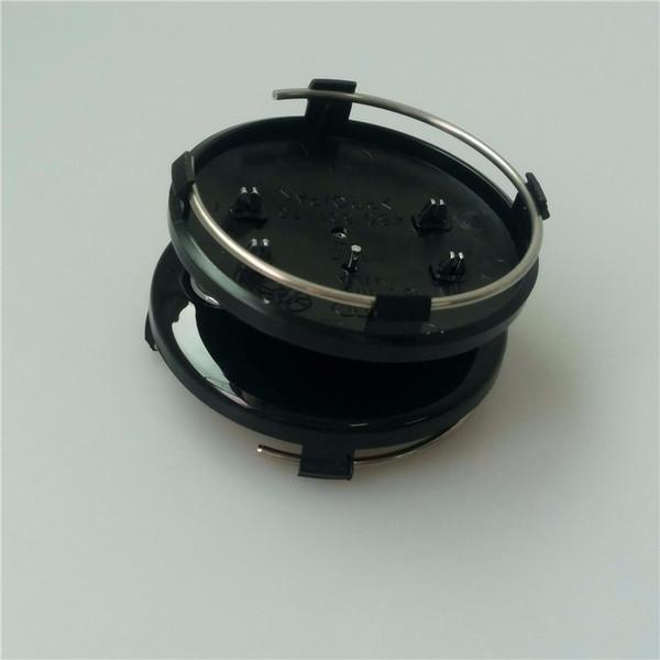 New 20pcs/lot 60mm gray/black Wheel Center Cap Wheel Hub Caps Rims Cover car Badge Emblem Case For A3 A4 A6 A8 TT,4B0601170 Styling
