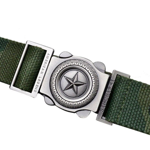 Free shipping Military Belt Men's Canvas Belt with Automatic Buckle metal Star fastener Wholesales MB015