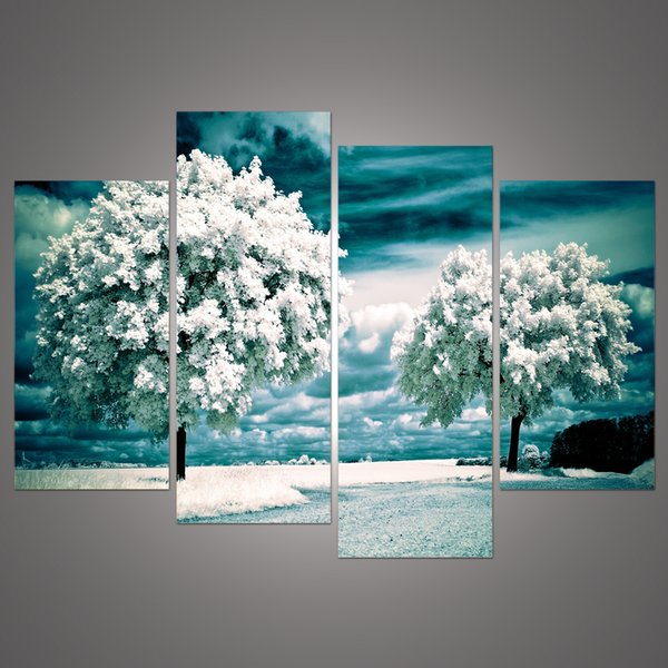 extra large canvas wall art uk ikea canada panel tree painting picture home decoration living room print