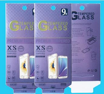 188*88mm Larger Paper Retail Package Packaging Box For Mobile Phone Tempered Glass Screen Protector