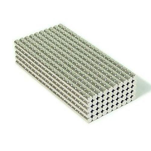 Commercio all'ingrosso - In magazzino 200 pz Forte Rotonda NdFeB Magneti Dia 2x2mm N35 Terre Rare Neodimio Permanente Mestiere / Magnete fai da te Spedizione gratuita