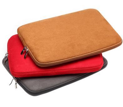 "Zipper Soft Sleeve Laptop Bag Case 11.6"" 13.3"" 14.4"" 15.6"" inch for MacBook Pro/Air/Retina Display Ultrabook Laptop Notebook"