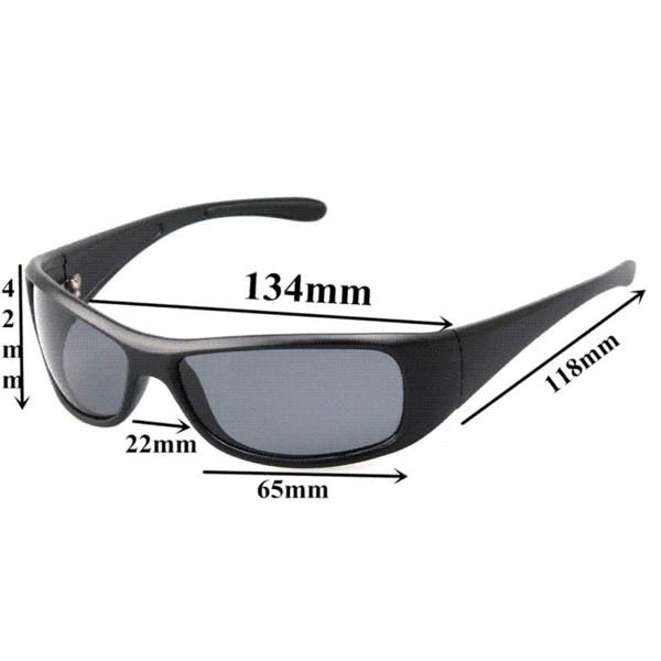 2016 Mens Sunglasses Polarized Outdoor Sport Designer Sun Glass Brand Designer Black Color UV Protect Gafas De Sol Zonnebril