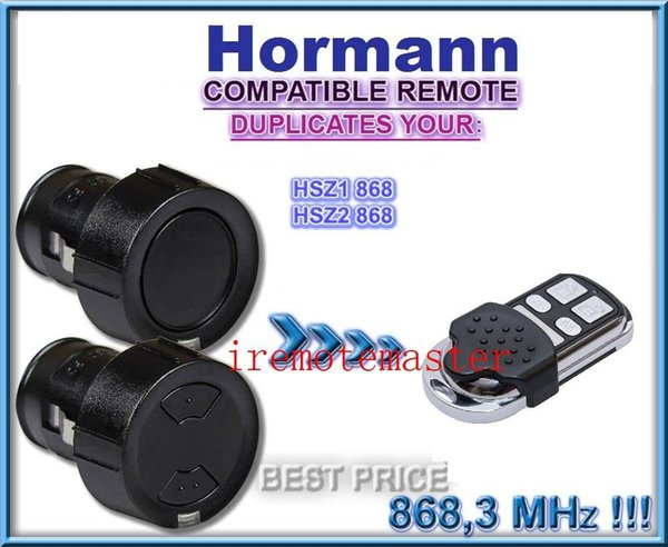 For Hormann HSZ1/2 compatible remote control replacement transmitter, 868,3Mhz