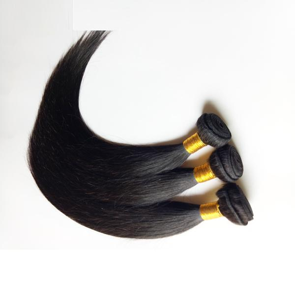 Black women Sexy beauty Peruvian Malaysian Virgin Hair Straight 4pcs Natural black Color best quality Indian Remy Hair Dyeable Best Quality