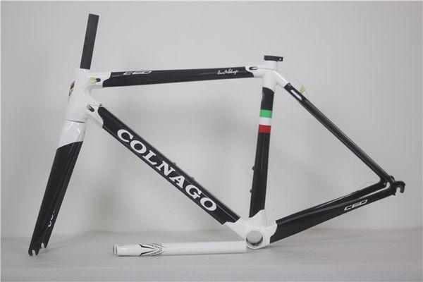 Hotsale Black And White Carbon Road Frame C60 T1000 Cabon Fiber Bike ...
