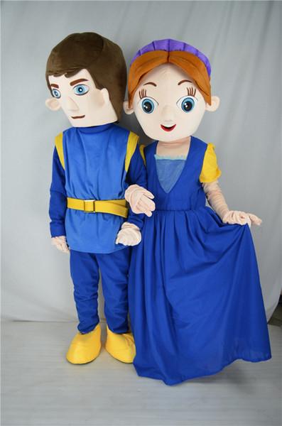 Фабрика прямой Ромео и Джульетта индивидуальный заказ костюм талисмана взрослый костюм хеллоуин костюм рождественская вечеринка мультфильм для взрослых размер одежды вы
