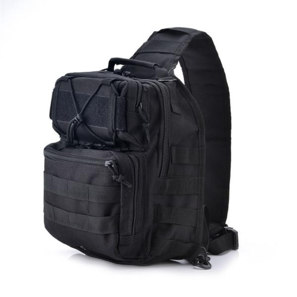 10PCS Men Single Shoulder Outdoor Bean Bags Combo 30cm Plain Hiking Gear Outdoor Bag and 20L Nylon Fishing Bag