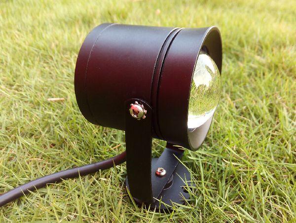 Lampadina per faretti da giardino 10W COB DC12V AC85 ~ 265V per esterni per esterni Decorazioni per feste RGB bianco caldo bianco freddo Lampada CE ROSH