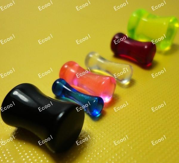 best selling Wholesale Lots Jewelry Bulk Lots Bone Ear Expander Stretcher Plug Body Piercing Bulk Lots LR332 Free Shipping