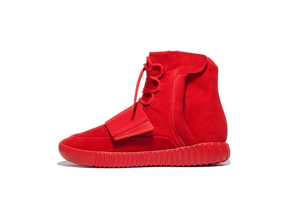1237d279b11 Originals Boost 750 Red October Kanye West Shoes 750 Boosts Men Women  Basketball Shoes Sports Casual