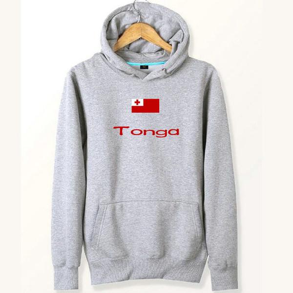 Тонга флаг толстовки страна баннер свободный город пластины пот рубашки флис одежда пуловер пальто открытый хлопок куртка матовый кофты