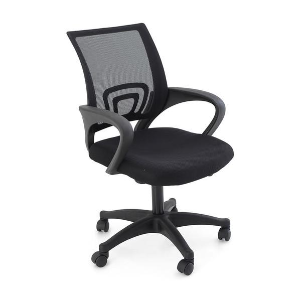 Nueva silla duradera del escritorio de oficina del ordenador del eslabón giratorio de malla ajustable ergonómica media
